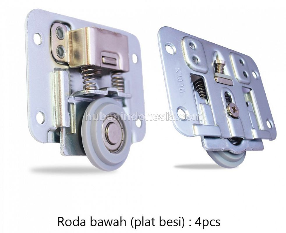 Roda Pintu SLiding Slow Motion